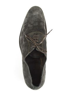 Comfort & style, in these BRIONI Corium Gray Suede Leather Lace Up Dress Shoes! | Want your own? http://www.frieschskys.com/footwear | #instastyle #mensfashion #mensstyle #menswear #dapper #stylish #MadeInItaly #Italy #couture #highfashion