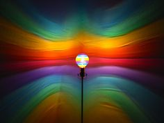 The ORIGINAL Hand-Painted Rainbow Mood-Light Bulb 4 Color Therapy, Night Lights, Parties, Mood Lighting. $25.00, via Etsy.