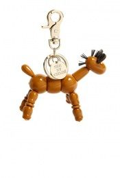 See by Chloé floppy pony resin print articulated keyring