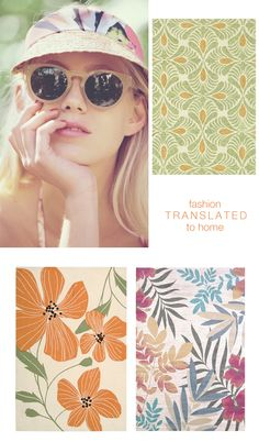 Fashion Translation: Something Tropical | Trend Center by Rugs Direct
