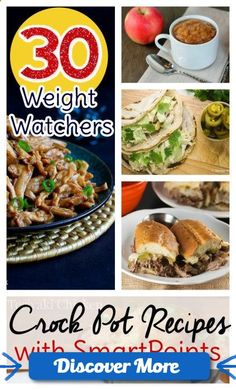 Counting Weight Watchers points? Try these Weight Watchers Crock Pot recipes with SmartPoints already calculated. #health #fitness #weightloss #healthyrecipes #weightlossrecipes