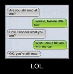 Funny messages and texting jokes .For more hilarious texts and funny text messages visit www.