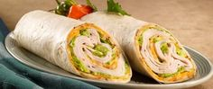 Jerk Turkey® Pepper Wrap with Bold 3 Pepper Colby Jack® Cheese | Boar's Head _ Go on a flavorful taste vacation with this quick and simple wrap recipe.
