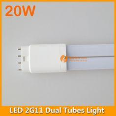 20W 2G11 LED dual tubes light