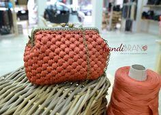 Vintage style handmade bag