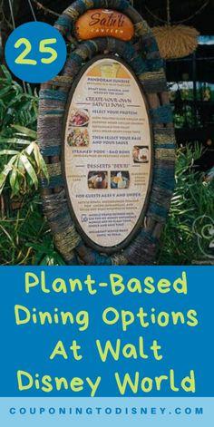 25 Plant-Based Dining Options At Walt Disney World