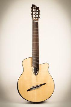 Beardsell Guitars » 9C Nylon-String Guitar   Handmade Guitars, Harp Guitars, Mandolins, and more.