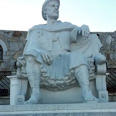Albanians are descendants of Illyrians which lived and fought side by side with the ancient Romans and Greeks and this is king Genti of the Illyrians.