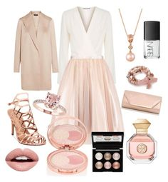 Champagne wishes by tiffani-trissel-oshea on Polyvore featuring polyvore fashion style Elizabeth and James The Row Madden Girl Dorothy Perkins LE VIAN Kim Rogers By Terry Witchery Nevermind Tory Burch NARS Cosmetics clothing