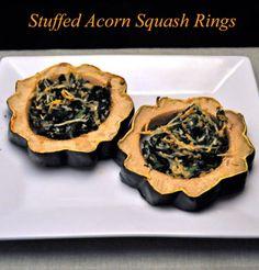 Stuffed acorn squash, Acorn squash and Squashes on Pinterest