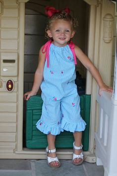 INSTANT DOWNLOAD Rory Bubble Romper for girls by SeaminglySmitten, $8.00