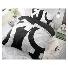 Sleeptime - Micropercal - WitKleur: WitMaat: 140 x 220 - Love Symbols Wit 140 x 220 Micropercal Love Symbols, Comforters, Nova, Blanket, Creature Comforts, Quilts, Blankets, Cover, Bed Covers