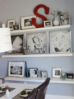 Home Decor Ideas - Creative ways to display your family photos