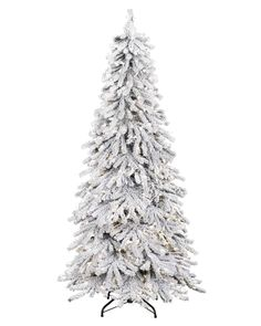 Have a merry white Christmas with a snow covered Christmas tree! Shop for Snowy Spruce Flocked Christmas Tree at Treetopia today.