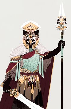 illustration by: Emily Rabbit | Lecatus (Act 1) belonging to Ultima, a large extremely organized guild of hundreds of members before Solomon's fall into madness, Lecatus served as commander-in-chief reporting directly to Solomon.