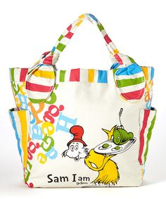 Another great find on #zulily! Sam I Am Tote by Dr. Seuss #zulilyfinds