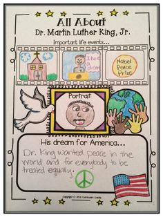 All About MLK Poster Freebie!