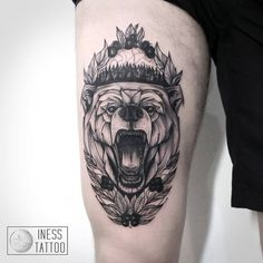 bear art tattoo - Поиск в Google