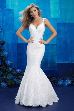 Allure Bridals 9412 Allure Bridal Village Bridal & Boutique - Bridal Gowns, Wedding gowns, Bridal gowns New York,Bridesmaid Gowns, Mother of the Bride Spring 2017 Wedding Dresses, Bridal Wedding Dresses, Wedding Dress Styles, Designer Wedding Dresses, Bridesmaid Dresses, Bridal Style, Ivory Wedding, Spring Wedding, Allure Bridals
