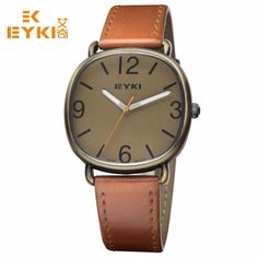 EYKI Men Watch New Luxury Brand Ultra Thin Full Genuine Leather Clock Waterproof Male Casual Quartz WristWatch relogio masculino #>=#>=#>=#>=#> Click on the pin to check out discount price, color, size, shipping, etc. Save and like it!