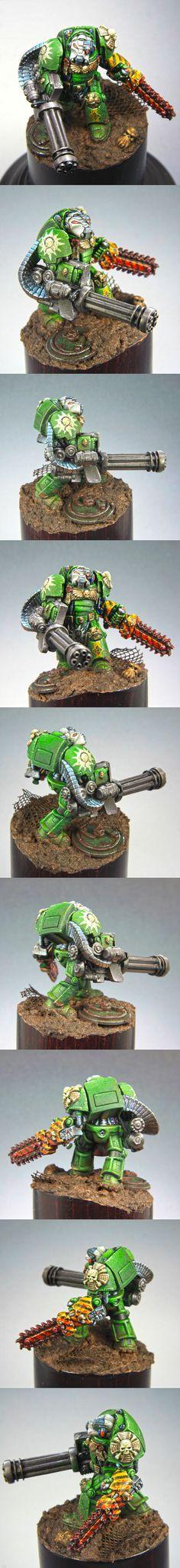 Aurora space marine terminator & assault cannon