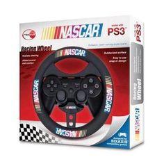 Dreamgear DGPS3-1375 Gaming NASCAR Racing Wheel For Playstation PS3 Controller