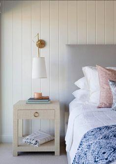 2018 Trend Alert: Vertical Tongue and Groove Paneling Bedroom Wall, Bedroom Decor, Master Bedroom, Master Bath, Tongue And Groove Panelling, Beadboard Wainscoting, Decoration, House Design, Interior Design