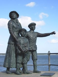 A monument to the millions of emigrants who left Ireland in Cohb, County Cork, Ireland. Cork Ireland, Ireland Travel, Statues, Irish Famine, Irish Eyes Are Smiling, Irish American, Ellis Island, County Cork, Irish Blessing