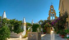 Μοναστήρια της Κέρκυρας Corfu, Mansions, House Styles, Home Decor, Decoration Home, Manor Houses, Room Decor, Villas, Mansion
