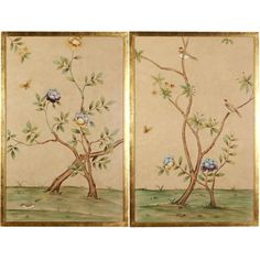 Flowers and Vines Wall Art