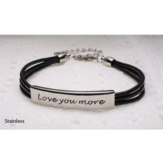 I Love You More Bracelet Bf Gifts Easy Great