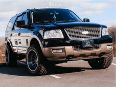"""2004 Ford Expedition - 20x12 -51mm - Asanti Ab815 - Leveling Kit - 33"""" x 12.5"""" Lincoln Aviator, Ford Excursion, Ford Expedition, Cool Cars, Wheels, Garage, Trucks, Kit, Drawings Of Dogs"""