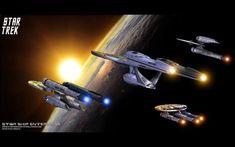 - Star Trek Star Ship Enterprise - free Star Trek computer desktop wallpaper, pictures, images.