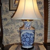 Make a Lamp from a Beautiful Vase or Figurine - Between Naps on the Porch