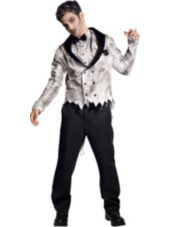 Adult Zombie Groom Costume-Party City