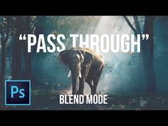 A Secret Blend Mode for Compositing in Photoshop - YouTube