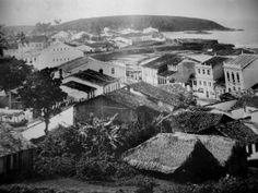 """Morro do Concelho_ fotos do livro """"BAHIA – Velhas Fotografias 1858/1900"""", de Gilberto Ferrez."""