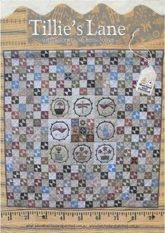 Tillie's Lane Block of the Month | Hatched and Patched