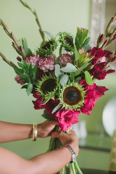DIY Briadal flower bouquets : DIY wedding flowers DIY: Summer Bouquet