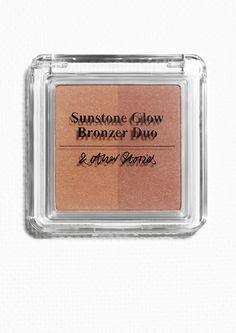 & Other Stories image 1 of Duo Bronzer in Sunstone Glow