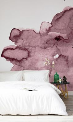 Murals Wallpaper Have Created A Gorgeous Watercolour Wall Mural Collection Made From Handmade Prints This