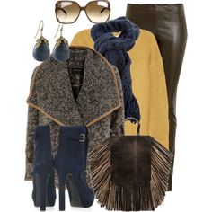"""I never dress this conservatively...but this kinda looks fun.""""scarf contest"""" by mayakhan007 on Polyvore"""