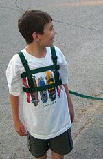 Child-to-Adult Safety Harness. Special Needs Harness. Autism Harness