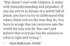 Sana Bakkoush quote