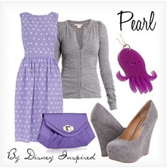 Pearl - from Disney Pixar's Finding Nemo, created by elliekayba on Polyvore