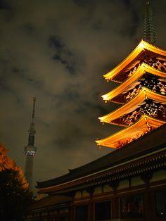 Asakusa, Tokyo, Japan by kalcul on Flickr