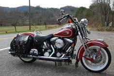 Harley-Davidson : Softail 1999 HARLEY DAVIDSON SOFTAIL HERITAGE SPRINGER FLSTS - LOW MILES, LOADED, CLEAN