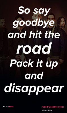 Linkin Park Good Goodbye Lyrics