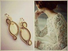 Waiting Soutache earrings #soutache # simona #rotaris