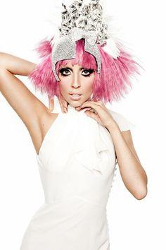 pink hair gaga ♡